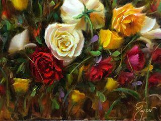 No One Promised You A Rose Garden by artist Pat Meyer