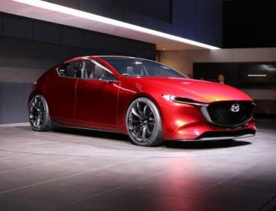 Mazda Kai Concept Previews Next-Gen 3, New Architecture and Engines