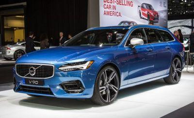Luscious Longroof: 2018 Volvo V90 Wagon Looks Hot in R-Design Form