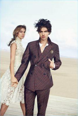 Will Peltz Travels to Deauville, France for Ermanno Scervino's Spring Campaign