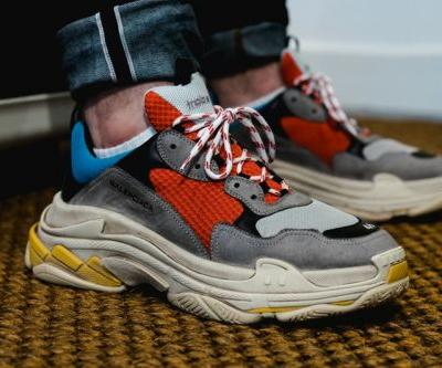 Here's a Closer Look at Balenciaga's Hard-To-Ignore Triple S Trainer