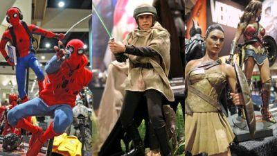 Comic-Con: Hot Toys Reveals New Marvel, DC, and Star Wars Figures!