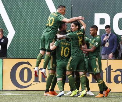 Timbers go up 2-1 after first leg of semifinal with Sounders