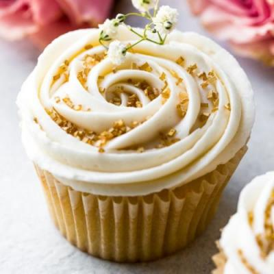 Wedding Cupcakes Champagne Frosting