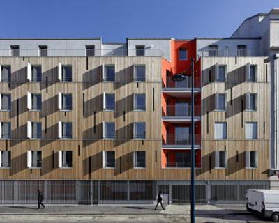 Apartment Building in Pantin / Benjamin Fleury Architecte-Urbaniste