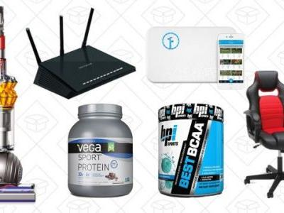 Wednesday's Top Deals: NetGear Routers, Dyson Vacuums, Amazon Supplement Sale, and More