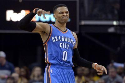 Shy 1 rebound, triple-double watch for Westbrook continues