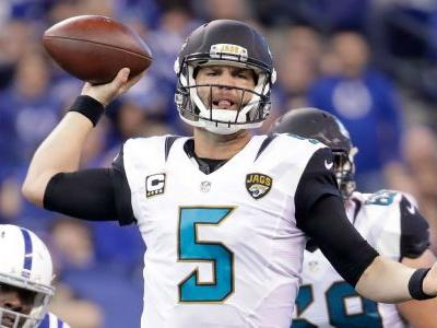 Jaguars signing Blake Bortles to 3-year, $54 million extension, report says