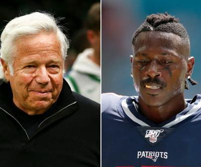 Robert Kraft fired Antonio Brown over 'threatening' texts to accuser