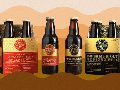 Guinness Just Announced Two Bourbon Barrel Aged Beers, Including an Imperial Gingerbread Spiced Stout