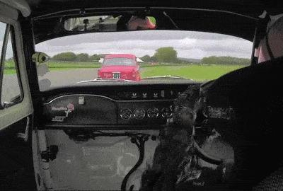 Alfa Giulietta Ti Driver Reacts Quickly To Avoid Spin During Goodwood Revival Race