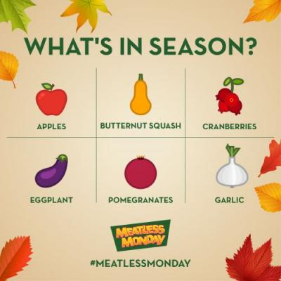 Celebrate the Best Seasonal Veggies in Your Neighborhood this Meatless Monday