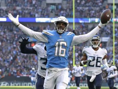 Chargers to wear powder-blue jerseys as primary home uniform