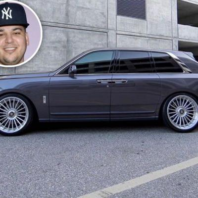 Rob Kardashian Flaunts New $400,000 Rolls-Royce After Weight Loss: 'Let It Rain'