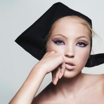 Lila Moss has been unveiled as the new face of Marc Jacobs Beauty