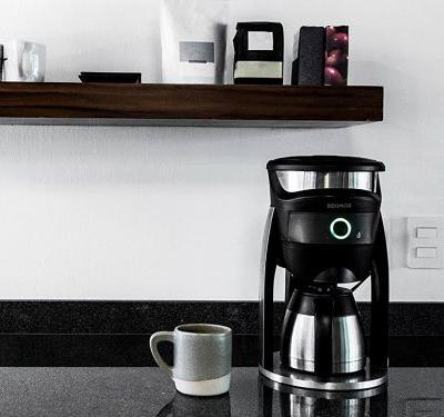 This 'smart' coffee maker lets me control just about every aspect of the brewing process - and it's compatible with Amazon Alexa