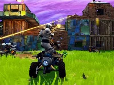 Fortnite patch notes detail Quadcrasher vehicle, new Events tab