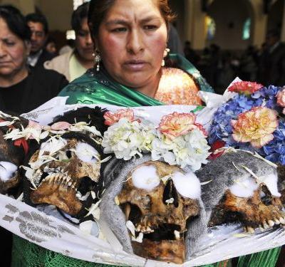 Muerte en Bolivia: Field trip to La Paz to Learn About Bolivia's Folklore, Death Culture, and Sacred Coca Leaf