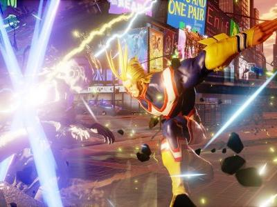 All Might California Smashes his way into Jump Force