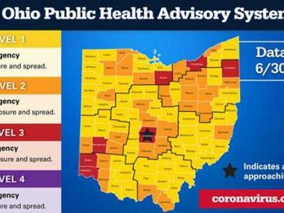 Ohio introduces color-coded health alert system: What each color means