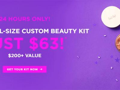 Sponsored: Tarte Custom Beauty Kit for $63