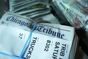 Chicago Tribune's owner considering bid for company, sources say