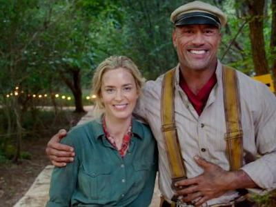 Jungle Cruise First Look Video: Emily Blunt & The Rock Go Back in Time