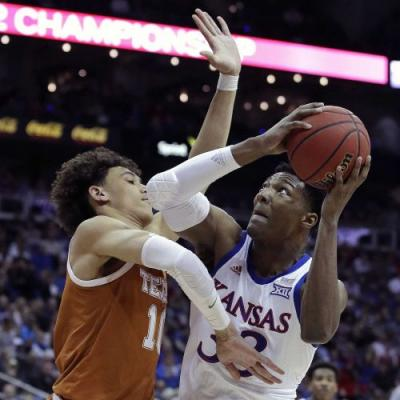 Kansas advances to Big 12 semifinals with 65-57 win over Texas