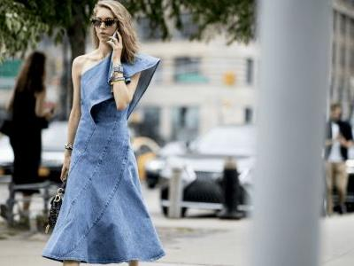 23 No-Fuss Denim Dresses to Shop Right Now