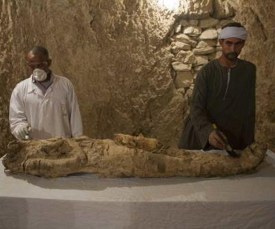 Archaeologists discover 3,500-year-old tombs in Egypt's Luxor