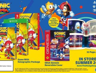 Sonic Mania Plus releases this summer with two new characters