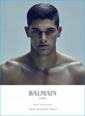 Discover Balmain's Trendy Hairstyles for Fall