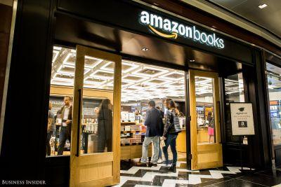 Amazon just opened its first brick-and-mortar location in New York City - take a look inside