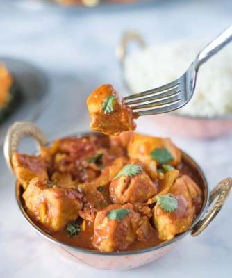 Madras: Quick Chicken Curry