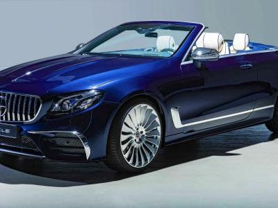 HOFELE HE Cabriolet Is A Mini-Maybach Looking Mercedes-AMG E53