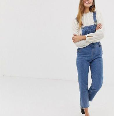 Long Denim Overalls Are a Romantic Addition to Any Fall Wardrobe