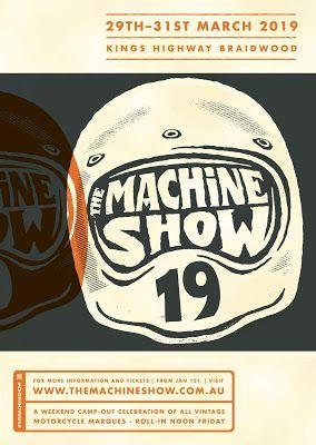 THE MACHINE SHOW 29-31 March 2019