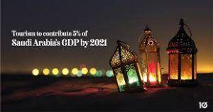 Tourism in Saudi Arabia contributed 5 percent to its GDP