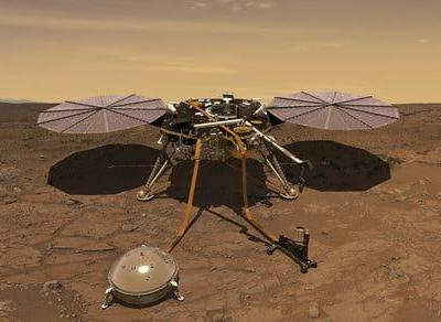 NASA's InSight lander is drilling on Mars again, after being stuck for 6 months
