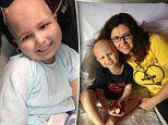 Brave eight-year-old boy battles second bout of brain cancer since he was just two
