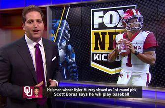 Kyler Murray to play baseball? Todd Bowles on the hot seat? Peter Schrager reports the latest