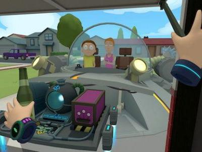 Rick and Morty: Virtual Rick-ality Launching on PlayStation VR, Coming in April