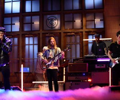 Watch Kevin Parker & John Mayer Join Travis Scott On SNL
