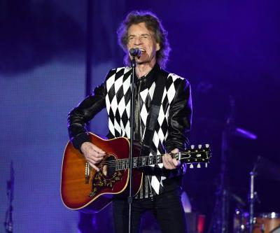 Mick Jagger skips and dances at Rolling Stones' tour opener following heart surgery