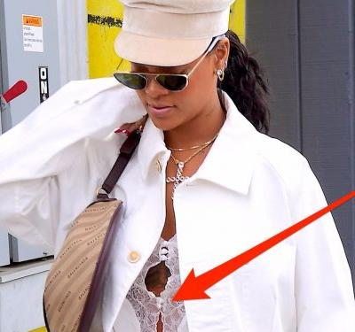 Rihanna wore underwear in broad daylight - and you probably didn't even notice