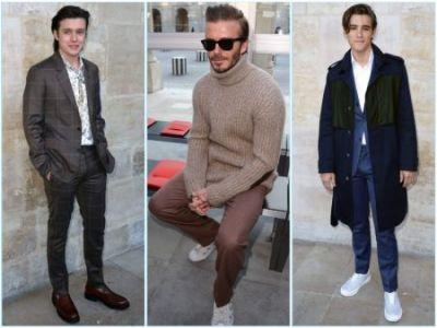 David Beckham, Nick Robinson + More Step Out for Louis Vuitton's Fall '17 Show