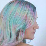 "This New ""Color Misting"" Technique Is Like Tie-Dye For Your Hair"