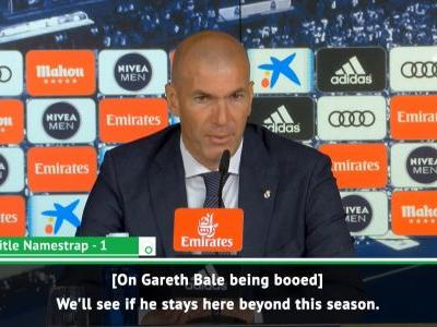 'We'll see if he stays or not'- Zidane on Bale's Real Madrid future