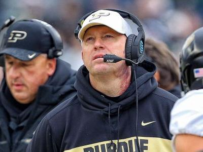 Jeff Brohm turns down Louisville, will remain Purdue's football coach