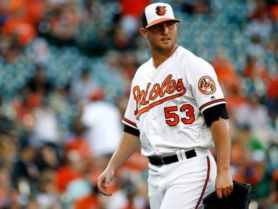 Report: Orioles' Britton out at least six months after rupturing Achilles